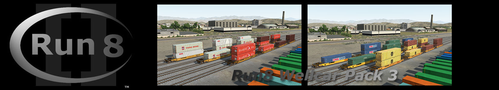 Run8 Train Simulator Wellcar Pack 3