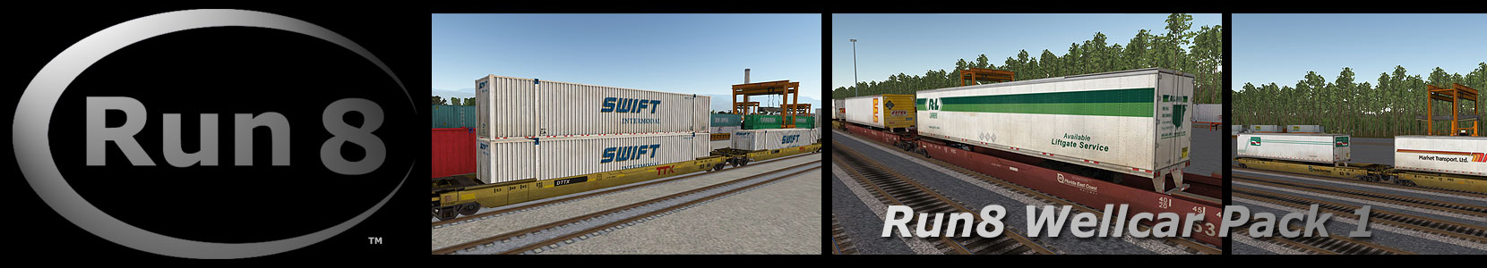 Run8 Train Simulator Wellcar Pack 1